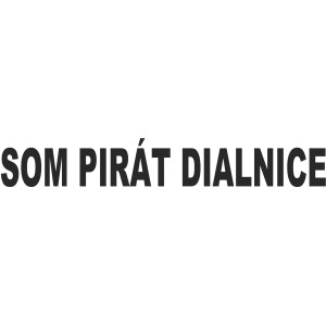 Som pirat dialnice